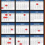 Assam Bank Holidays Calendar 2015