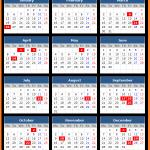 Goa Bank Holidays Calendar 2015