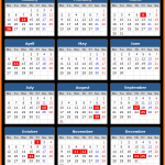 Gujarat Bank Holidays Calendar 2015