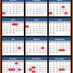 Jharkhand Bank Holidays Calendar 2015