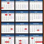 Nagaland Bank Holidays Calendar 2015