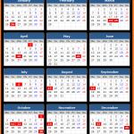 Delhi Bank Holidays Calendar 2016