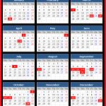 Kerala Bank Holidays Calendar 2016