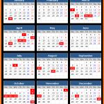 Jharkand Bank Holidays Calendar 2016