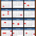 Madhya Pradesh Bank Holidays Calendar 2016