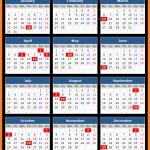 Madhya Pradesh Bank Holidays Calender 2017