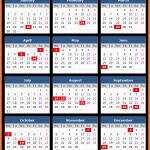 Telangana Bank Holidays Calendar 2017