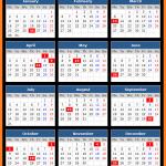 Delhi Bank Holidays Calendar 2017