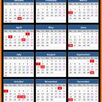 Rajasthan Bank Holidays Calendar 2017