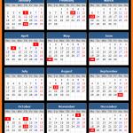Punjab Bank Holidays Calendar 2017
